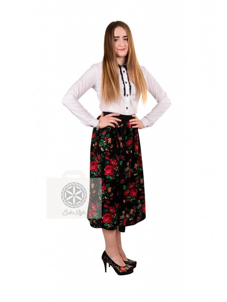 spódnica folkowa prosta