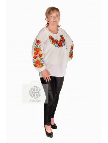 bluzka folkowa plus size