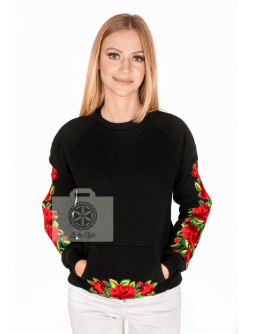 Bluza damska haftowana w...