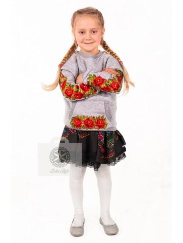 bluza haftowana w róże dla...
