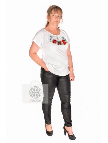Bluzeczka zakopiańska haft polny k.rękaw