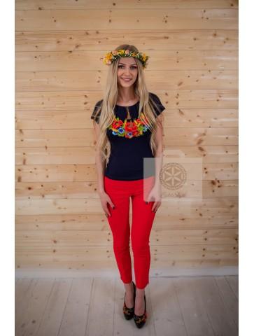bluzka folkowa haftowana duże rozmiary