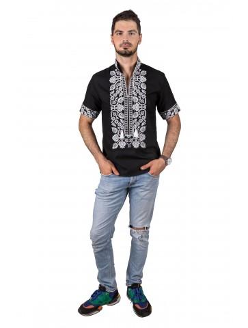 koszulka haftowana lniana
