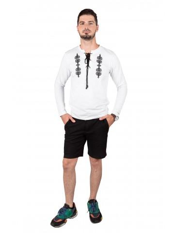 koszulka ze sznurkiem męska haftowana
