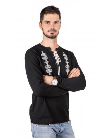 koszulka haftowana ze sznurkiem