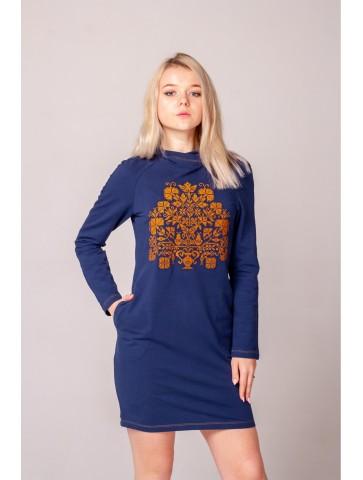 bluzo sukienka z kapturem...