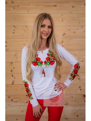 Bluzeczka w róże