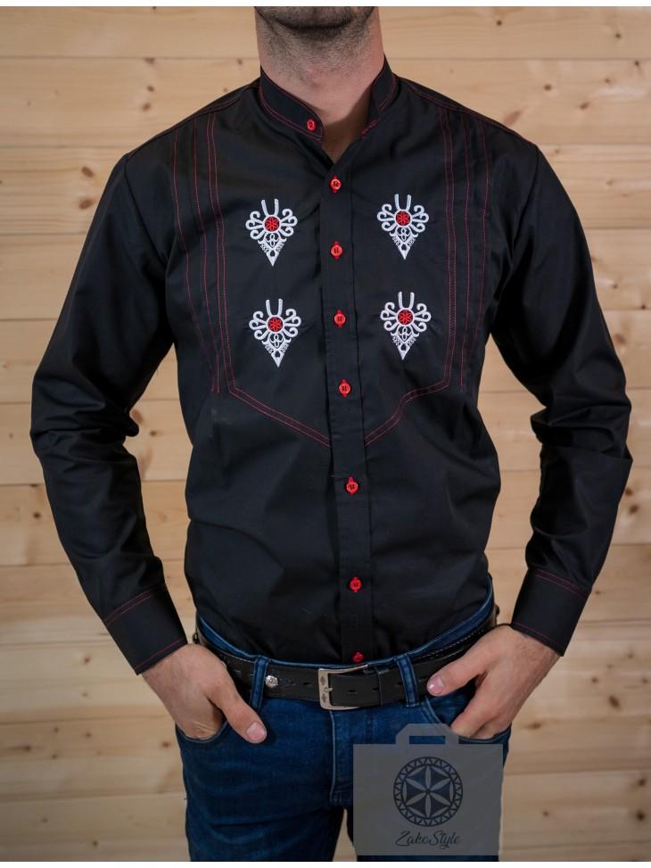 koszula góralska z pzrenicami