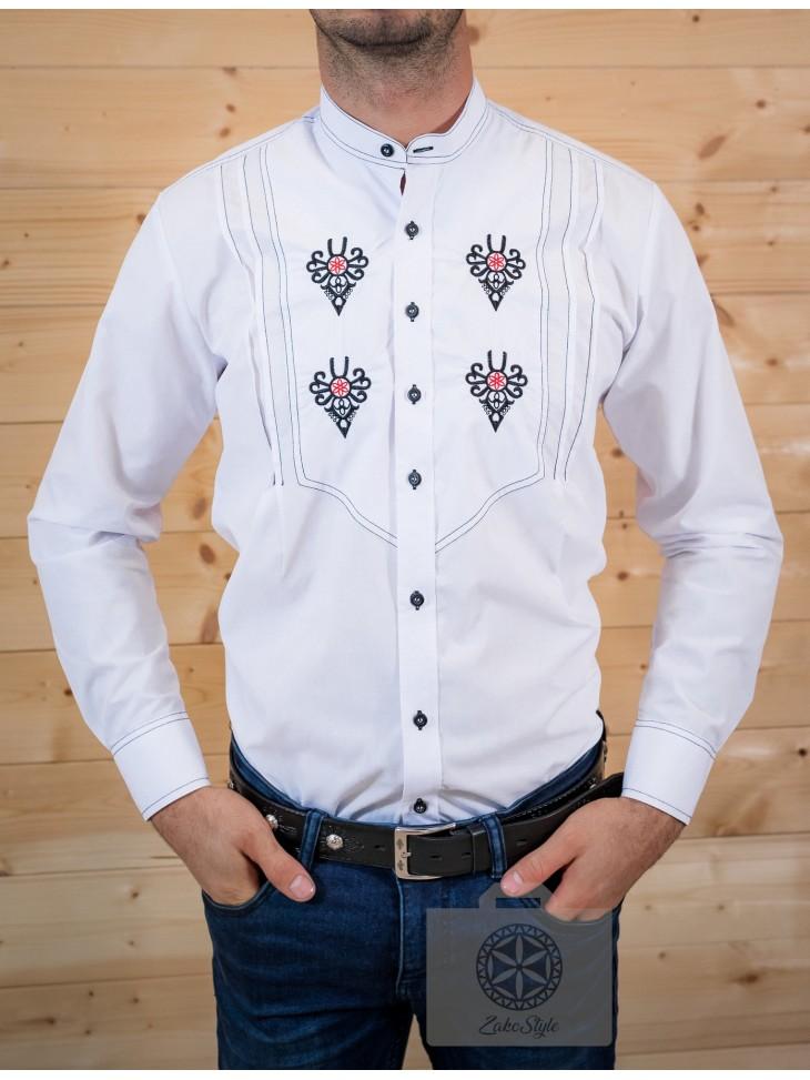 koszula folkowa z parzenicami