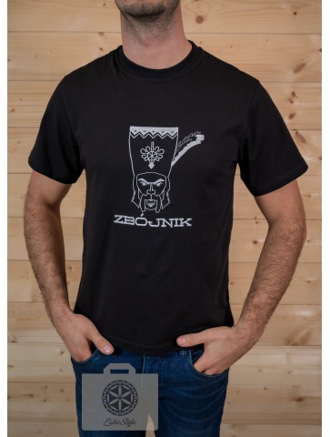 Koszulka czarna zbójnik