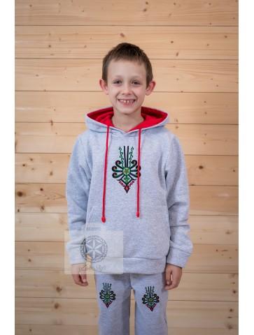 Bluza szara parzenica dziecko