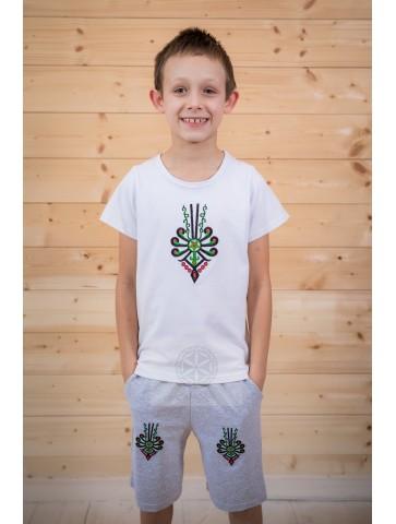 Koszulka biała parzenica