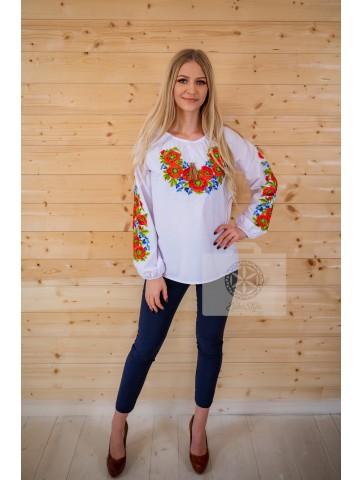 bluzka płótniana haftowana duże rozmiary