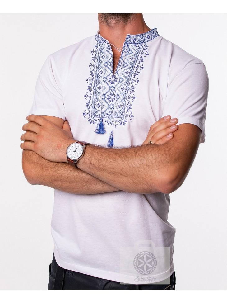 Koszulka męska haftowana , słowiańska bluzka męska , folkowy  wpALu