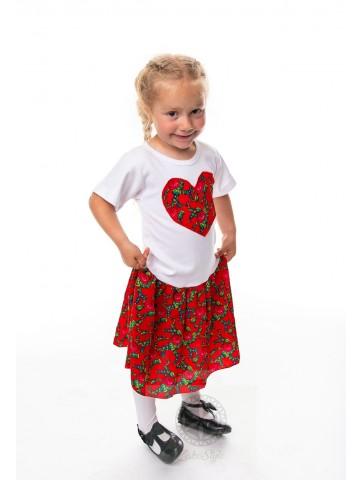 sukienka góralska dla dziewczynki