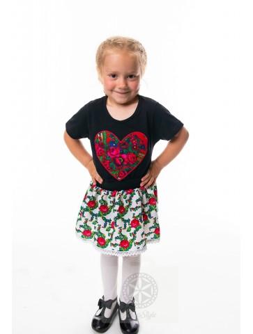 Koszulka dziecięca serce...