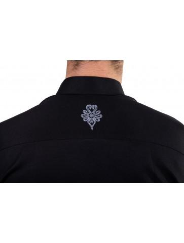 koszula z parzenicą na plecach