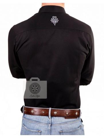 koszula stylizowana z parzenicami