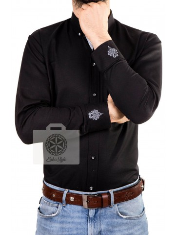 Koszula męska góralska, ludowe hafty...