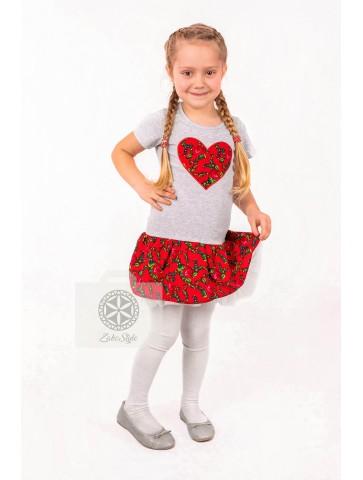 sukienka folkowa dla dziewczynki