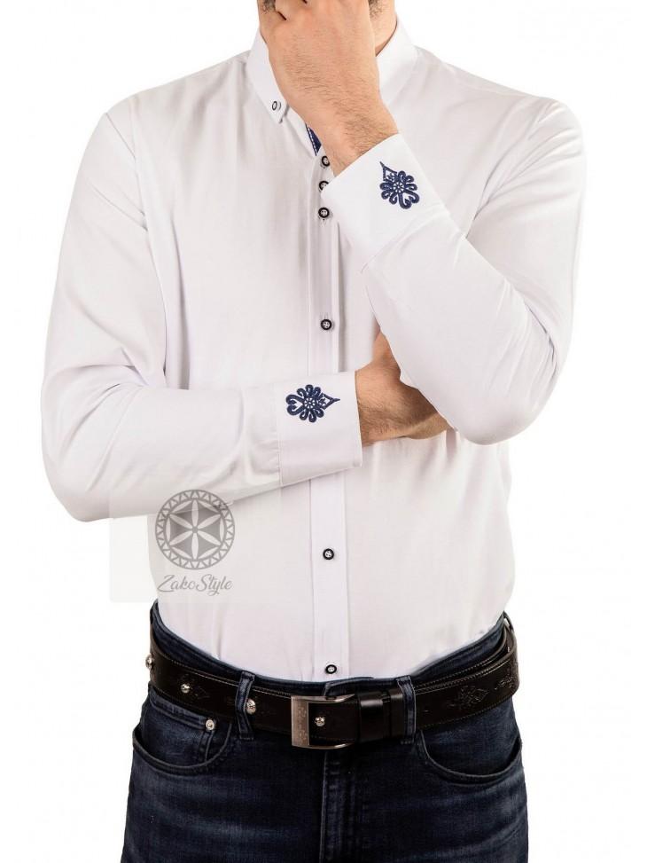 koszula góralska z parzenicami