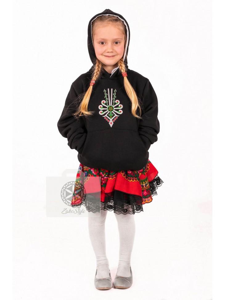 bluza góralska dla dziewczynki